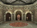 Royal throne chamber
