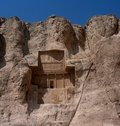 Royal tomb at Naghs-é Rostam ,Iran Royalty Free Stock Photos