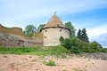 The Royal tower of the old Russian fortress Oreshek. Leningrad region Royalty Free Stock Photo