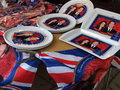 Royal Wedding souvenirs Royalty Free Stock Photo