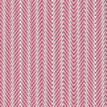 Roze chevron naadloos patroon. Stock Foto