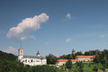 Rozmberk castle in the czech republic Royalty Free Stock Image