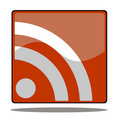Rss icon Royalty Free Stock Photo