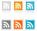 RSS Symbo Royalty Free Stock Images