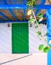 Ruas da ilha de tabarca em alicante Imagens de Stock Royalty Free