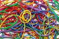 Rubber bands Royalty Free Stock Photo