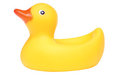 Rubber duck bath toy Royalty Free Stock Photos