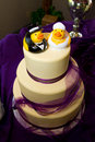 Rubber Duck Cake Stock Photography