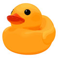 Rubber ducky for bath