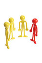 Rubber Figures Stock Photo