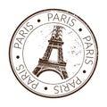 Rubber stamp paris