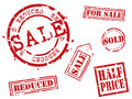 Rubber stamp series Royalty Free Stock Images