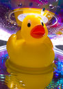 Rubbery duck Stock Image