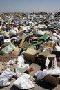 Rubbish, Aragon, Spain Royalty Free Stock Photo