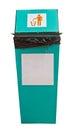 Rubbish et réutilisez les poubelles Photographie stock libre de droits