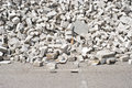 Rubble of Masonry Royalty Free Stock Images