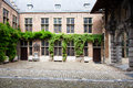 Rubenshouse antwerp courtyard of the the former home and studio of peter paul rubens in belgium Royalty Free Stock Photography
