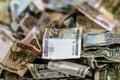 Rubles soldi russi Fotografia Stock