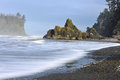 Ruby Beach in Olympic National Park Royalty Free Stock Photo
