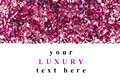 Ruby diamond jewel stones luxury background with copy space on white Stock Images