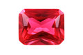 ruby mineral isolated Royalty Free Stock Photo