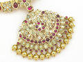 Ruby necklace Royalty Free Stock Photo