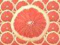 Ruby red winogronowy owocowy Fotografia Stock