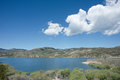 Ruby reservoir in madison county montana Stock Photo
