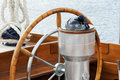 Rudder and compass Royalty Free Stock Photo