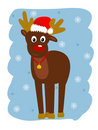 Rudolph Royalty Free Stock Photo