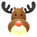 Rudolph Red Nosed Reindeer Royalty Free Stock Photos