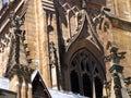 Rue de la cathédrale s d'Andrew Image libre de droits