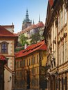 Rue de prague Photos stock