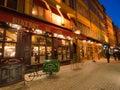 Rue Merciere, Lyon, France Stock Image