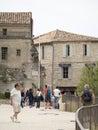 Rue Porte Mage, Les Baux-de-Provence, France