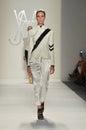 Ruffian - New York Fashion Week Royalty Free Stock Photos