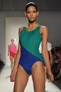 Ruffian - New York Fashion Week Stock Photography