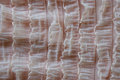 Ruffled material texture close up Stock Images