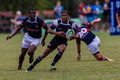 Rugby action of st teams high school players of mature young men between greys college and outeniqua boys high school at the Stock Photos
