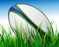 Rugby ball Royalty Free Stock Photography
