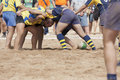 Rugby beach Stock Photos