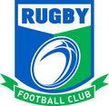 Rugby football club Stock Photo