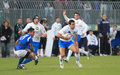 Rugby test match Italy vs Samoa; Canale Stock Photo