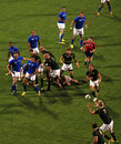 Rugby World Cup 2011 South Africa versus Namibia Royalty Free Stock Photo