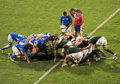 Rugby World Cup 2011 South Africa versus Namibia Royalty Free Stock Images