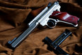 Ruger Mark III Royalty Free Stock Images