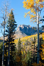 Rugged mountains in fall colorado Royalty Free Stock Image