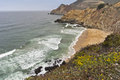 Rugged Northern California coastline Stock Images