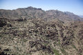 Rugged terrain of the Superstition Mountains Stock Photography