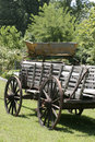 Rugged weathered wagon Royalty Free Stock Photo